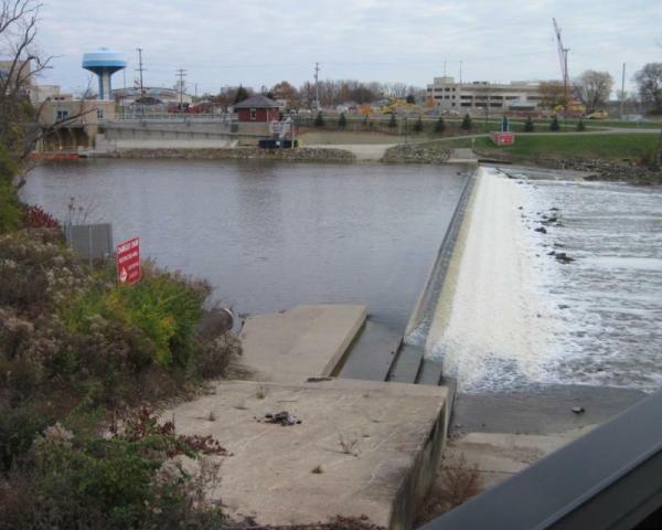 water plant dam