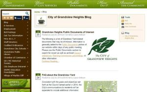 Grandview City blog