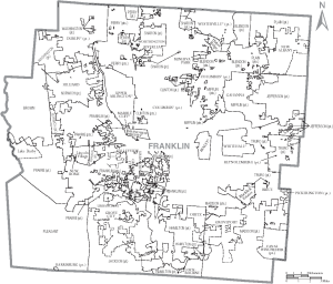 Franklin County Boundaries