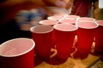 red beer cups