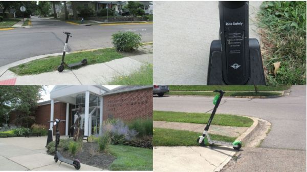 Quad scooters